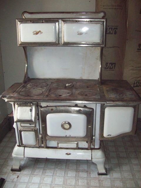 Antique Copper Clad cook stove