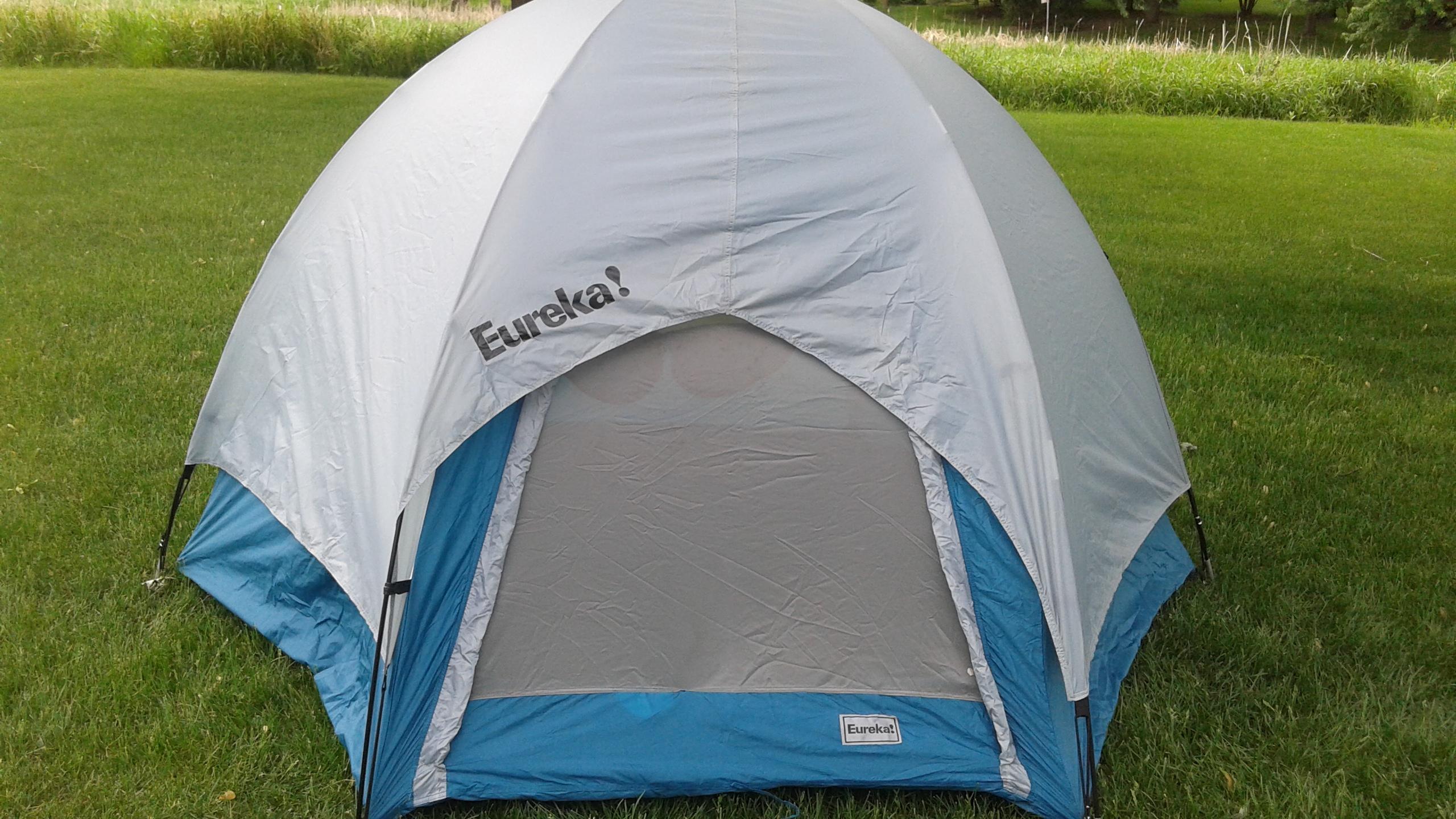 Eureka pup tent