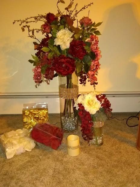 Flower Arrangements/Battery Candles