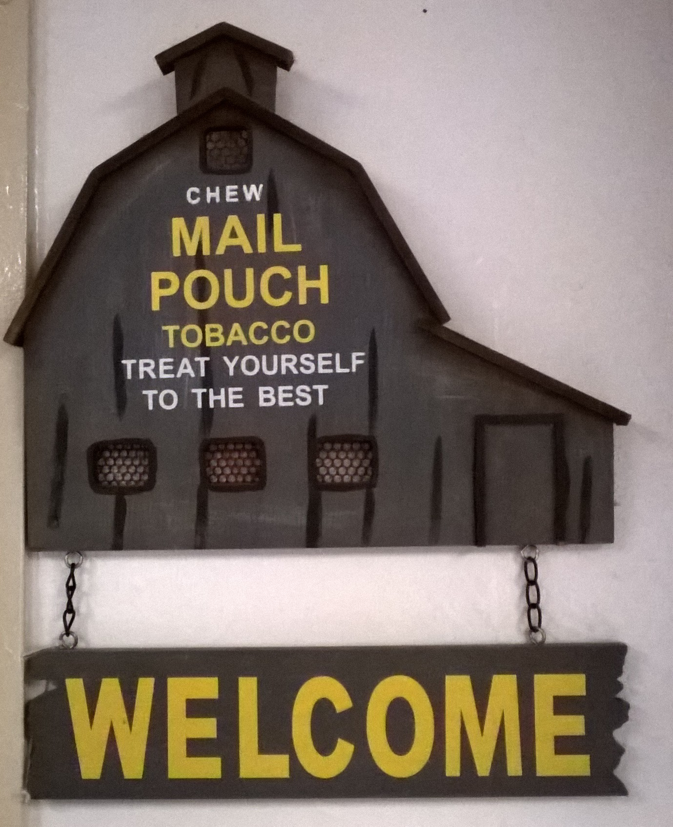 Mail Pouch Tobacco Barn Wall art