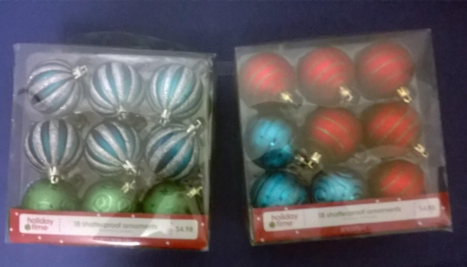 Christmas/ Holiday Tree Ornaments