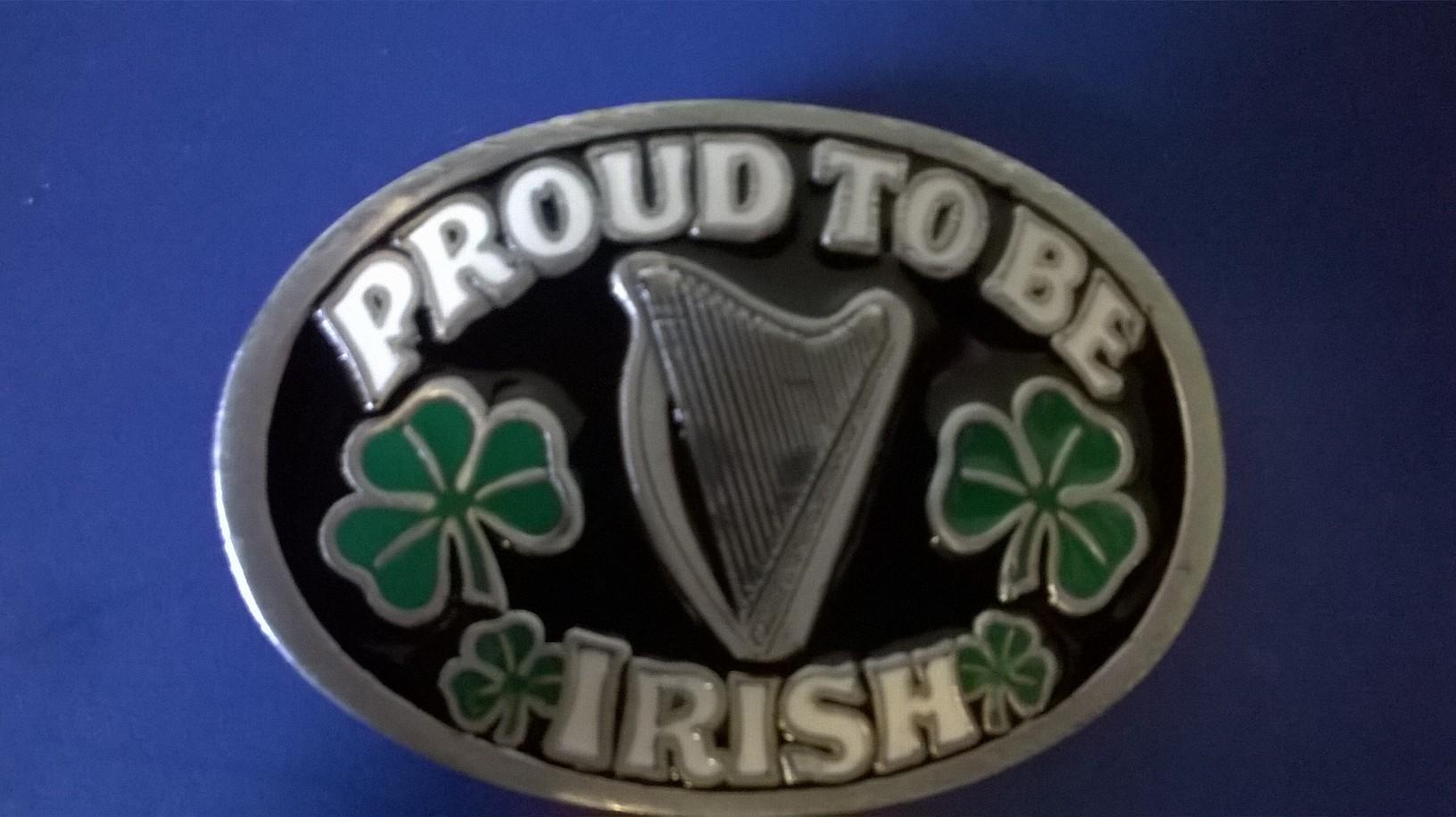 Belt Buckle, Proud To Be Irish