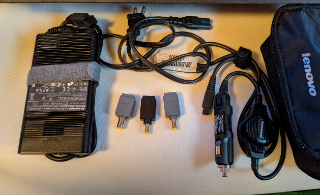 Lenovo multi voltage computer charger