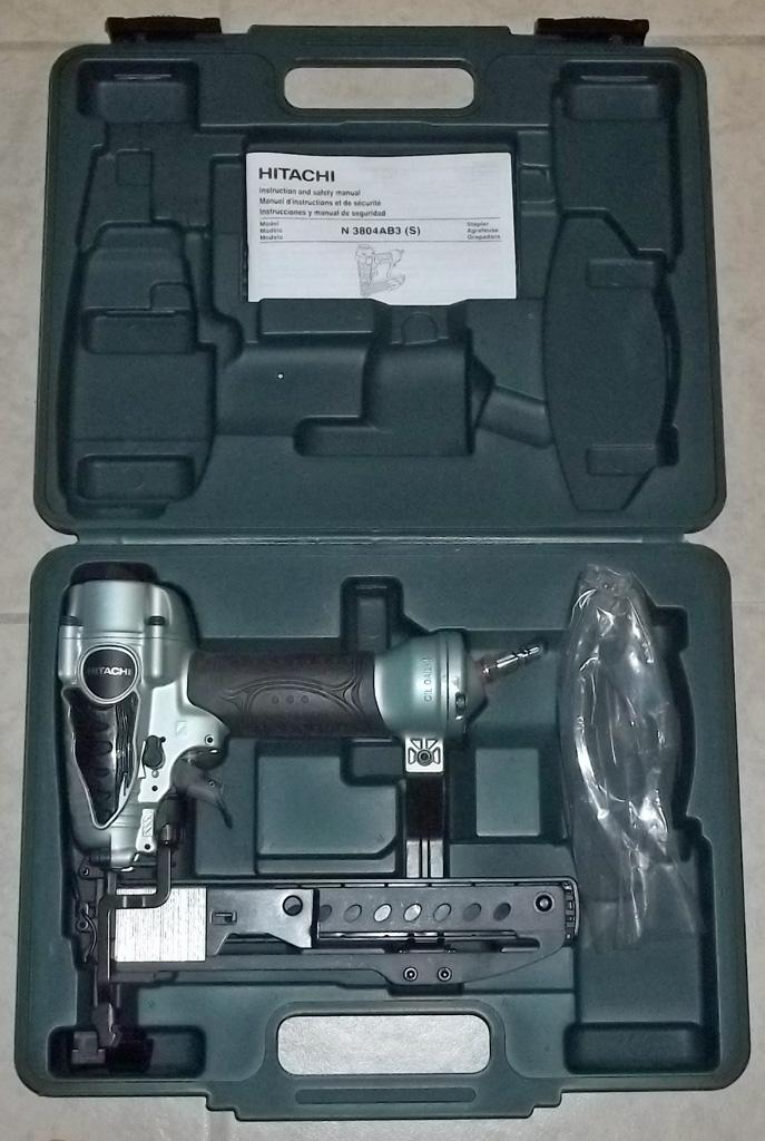 Hitachi Pneumatic Stapler & Accessories; N3804AB3(S)