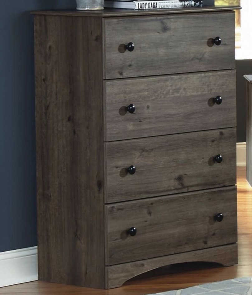 Perdue Woodworks 4 Drawer Chest