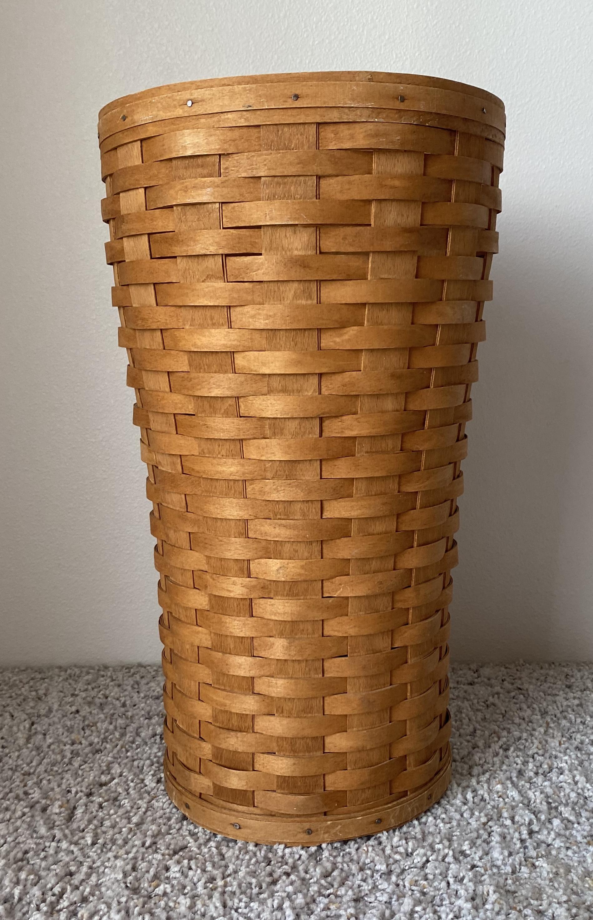 Vintage 19192 Signed Longaberger Umbrella Basket