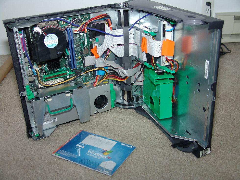 PC - Optiplex GX260 Dell with DVD Burner