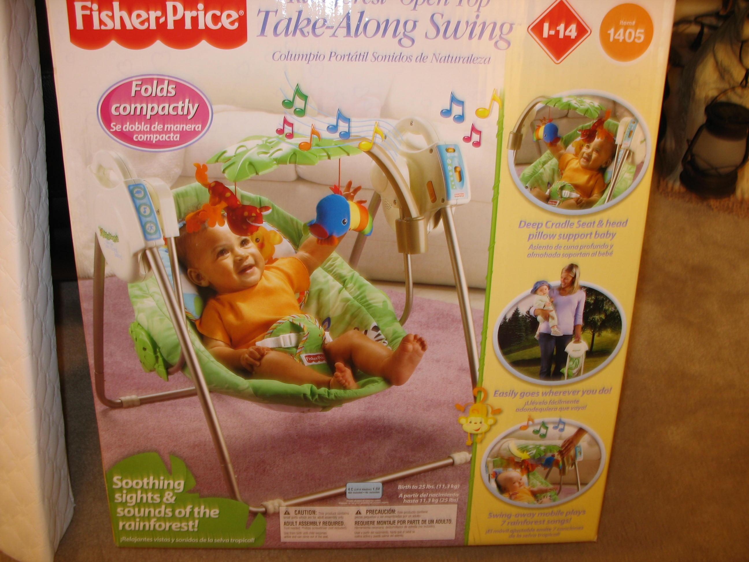 Fisher Price (Rainforest open top)
