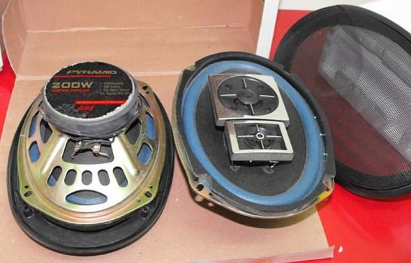Car Stereo Speakers (020)
