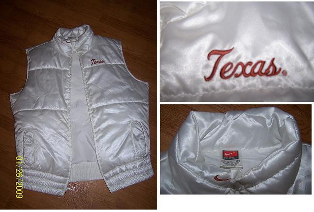 Texas Longhorn Jacket/Vest