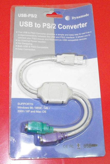 PS/2 to USB Adaptor (042)