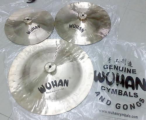"""Genuine Wuhan Cymbals Size 12\"""""""