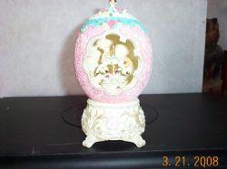 Equsite Antique Style Decorative Musical Clock