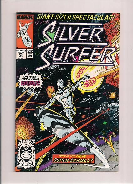 Silver Surfer *Issue #25 *Marvel Comics