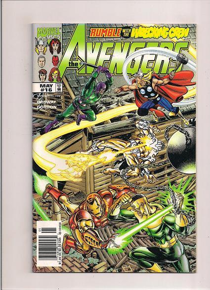 Avengers *Issue #16  *Marvel Comics