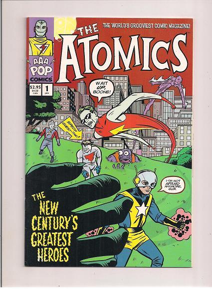 The Atomics  *Issue #1  *AAA POP Comics