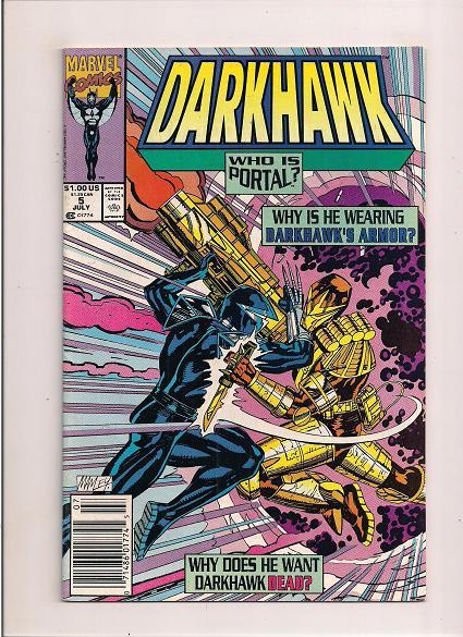 Darkhawk   *Issue #5    *Marvel Comics