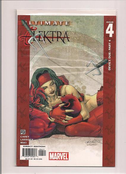 Ultimate Elektra  *Issue #4   *Marvel Comics