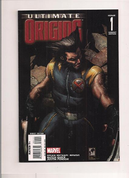 Ultimate Origins *Issue #1   *Marvel Comics