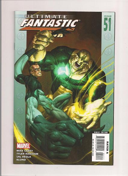 Ultimate Fantastic Four  *Issue #51   *Marvel Comics