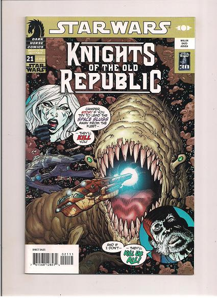Star Wars *Knights of the Old Republic  *Issue #21