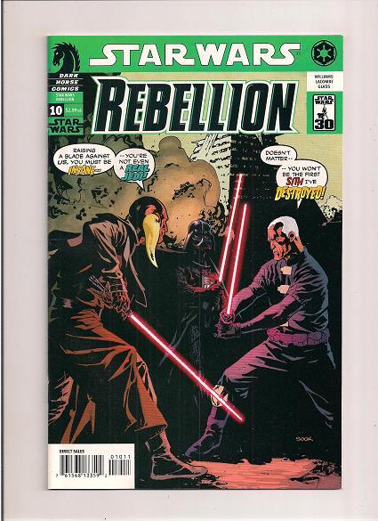 Star Wars *Rebellion *Issue #10 *Dark Horse Comics