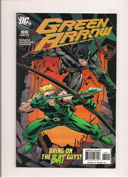 Green Arrow *Issue #69   *DC comics