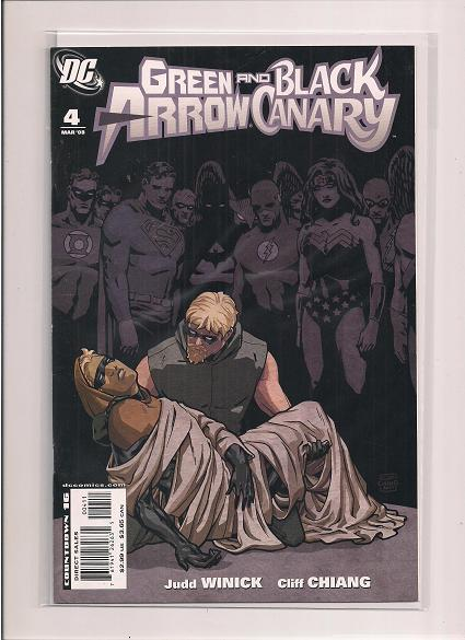 Green Arrow and Black Canary *Issue #4  *DC Comics