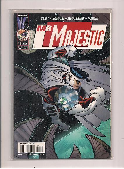 Majestic  *Issue #1   *Wildstorm Comics
