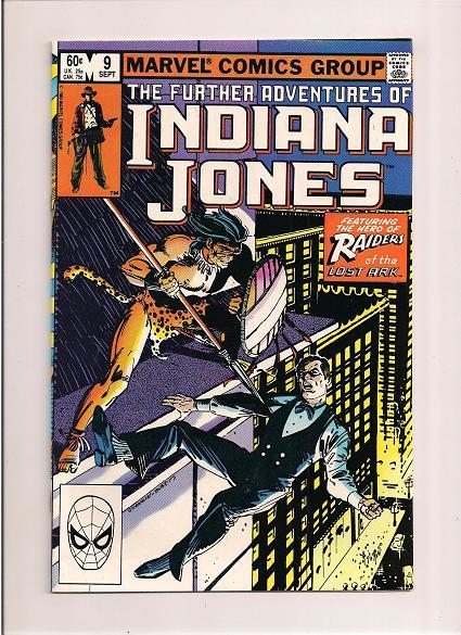 The Further Adventures of Indiana Jones *Issue #9 *Marvel Comics