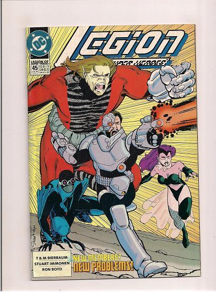 Legion of Super-Heroes  *Issue #45  *DC Comics