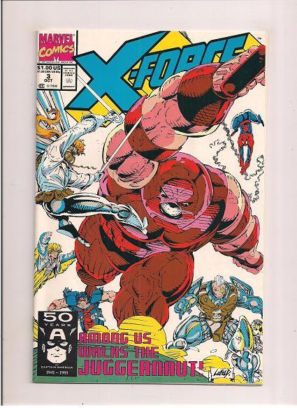 X-Force *Issue #3   *Marvel Comics