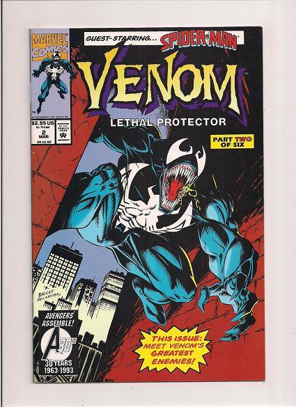 Venom *Lethal Protector *Issue #2  *Marvel Comics
