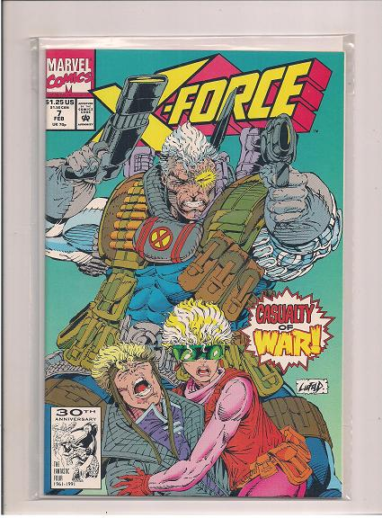 X-Force *Issue #7   *Marvel Comics