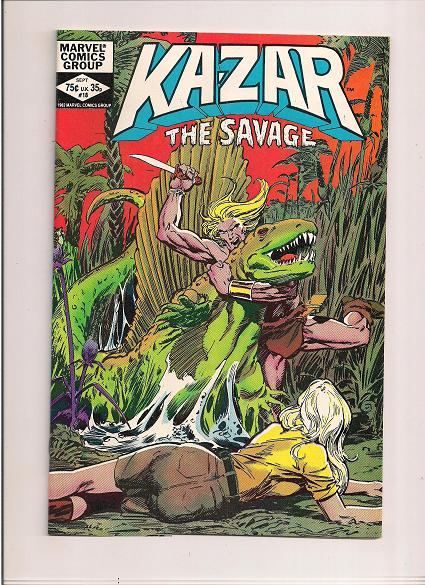 Kazar The Savage   *Issue #18   *Marvel Comics