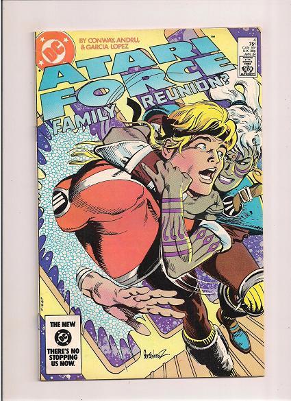 Atari Force *Issue #4   *DC Comics