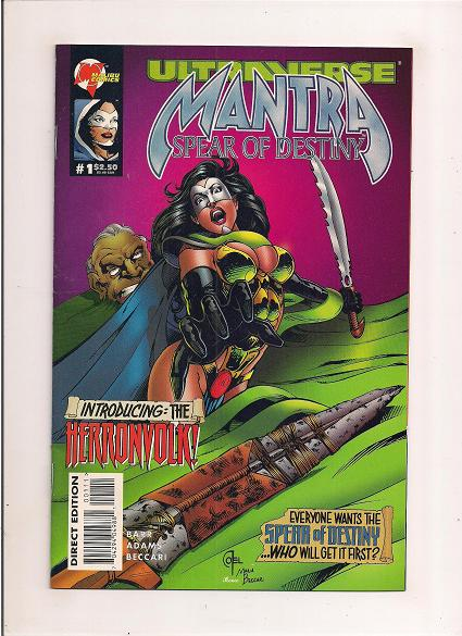 Mantra  *Issue #1   *Malibu Comics
