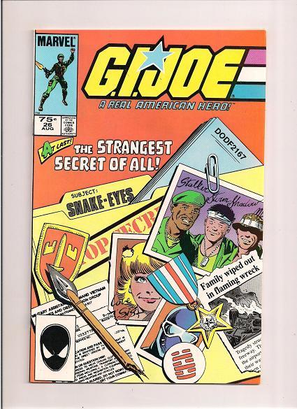 G. I. Joe *A Real American Hero  *Issue #26   *Marvel Comics