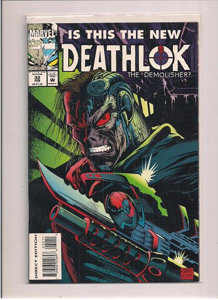 Deathlok   *Issue #32   *Marvel Comics