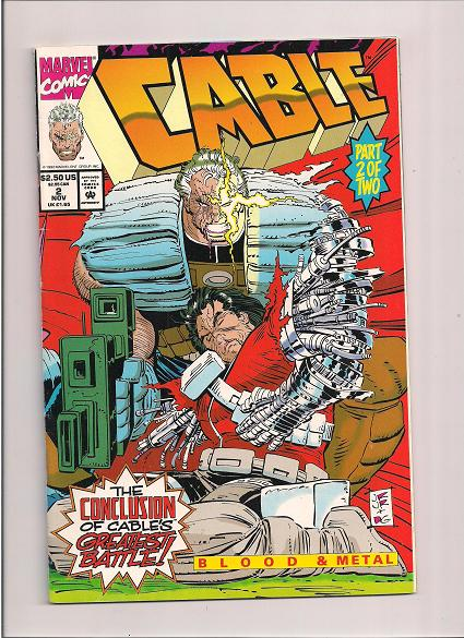 Cable  *Issue #2   *Marvel Comics