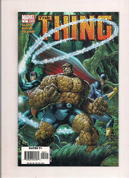 The Thing   *Issue #2    *Marvel Comics