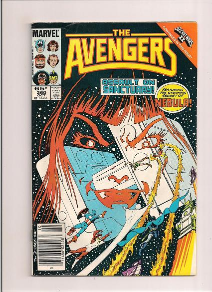 Avengers *Issue #260  *Marvel Comics