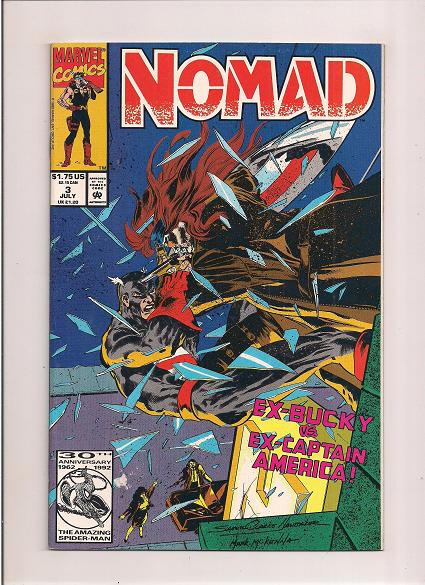 Nomad   *Issue #3   *Marvel Comics