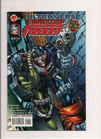 Codename:Firearm   *Issue #1    *Malibu Comics