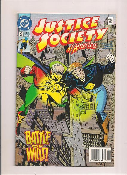 Justice Society of America   *Issue #9    *DC Comics