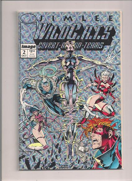 WILDC.A.T.S *Covert-Action-Teams  *Issue #2   *Image Comics