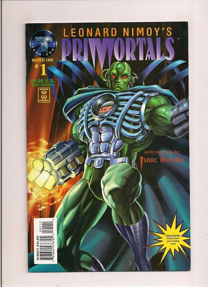 Primortals   *Issue #1   *Tekno  Comics