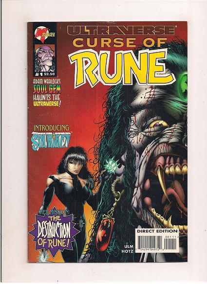 Curse of Rune   *Issue #1     *Malibu Comics
