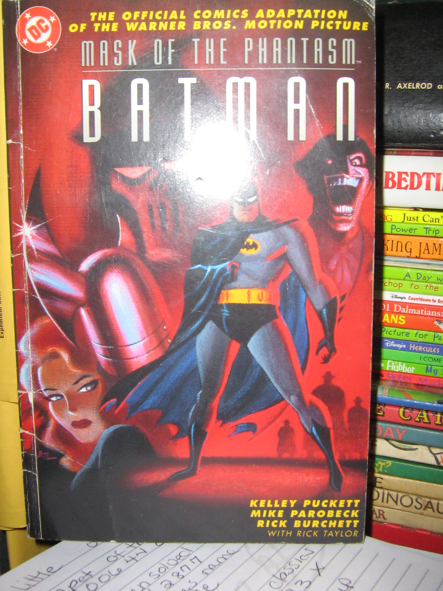 Batman- Mask of the Phantasm