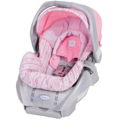 Graco Snugride Car Seat Cover In Pink Victoria